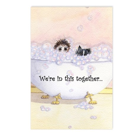 We're in this together Postcards (Package of 8)