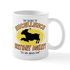 The Secret to Brittany Agility Mug