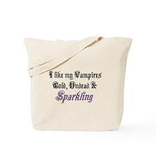 Cold Undead & Sparkling PRPL Tote Bag