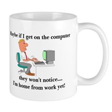 Dad's home from Work Mug