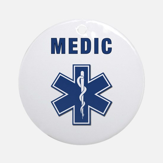 Medic and Paramedic Ornament (Round)