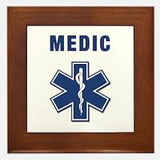 Medic and Paramedic Framed Tile