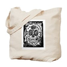 Day fo the dead Sugar skull Tote Bag
