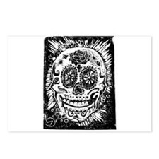 Day fo the dead Sugar skull Postcards (Package of
