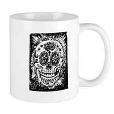Day fo the dead Sugar skull Mug