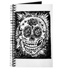 Day fo the dead Sugar skull Journal