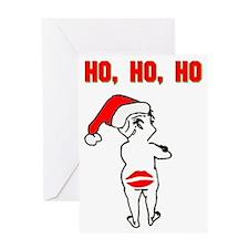 """Ho, Ho, Ho"" Greeting Card"