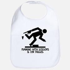 Runs with scissors Bib