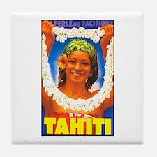 Tahiti South Pacific Tile Coaster