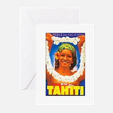 Tahiti South Pacific Greeting Cards (Pk of 10)
