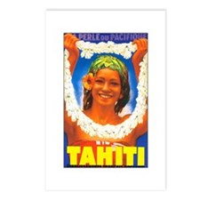 Tahiti South Pacific Postcards (Package of 8)