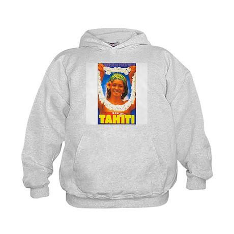 Tahiti South Pacific Kids Hoodie