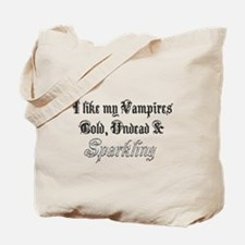 Cold Undead & Sparkling Diamo Tote Bag
