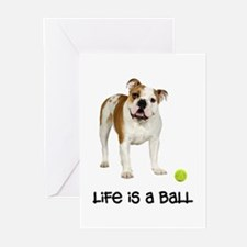 Bulldog Life Greeting Cards (Pk of 10)