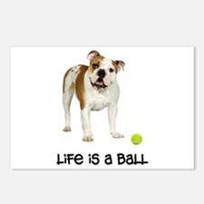Bulldog Life Postcards (Package of 8)