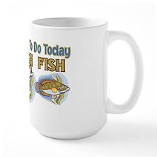 3 THINGS TO DO FISH FISH FISH Mug