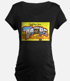 Tampa Florida Greetings (Front) T-Shirt