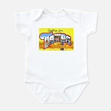 Tampa Florida Greetings Infant Bodysuit