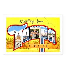 Tampa Florida Greetings Postcards (Package of 8)