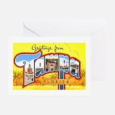 Tampa Florida Greetings Greeting Card