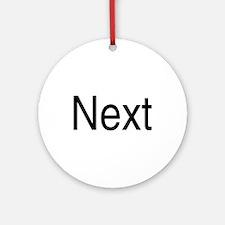 Next Ornament (Round)