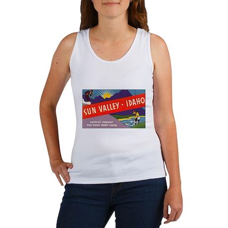 Sun Valley Idaho Women's Tank Top