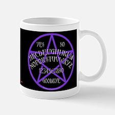 Purple Pentagram Board Mug