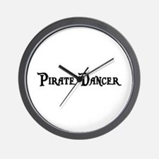 Pirate Dancer Wall Clock