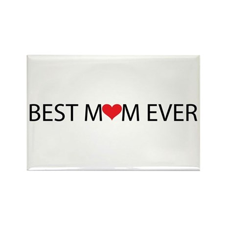 Best Mom Ever Rectangle Magnet (100 pack)