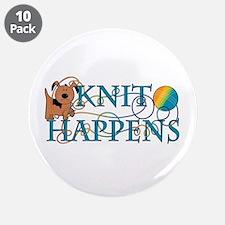 """Knit Happens 3.5"""" Button (10 pack)"""