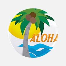 "Aloha 3.5"" Button (100 pack)"
