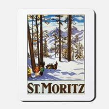 St Moritz Switzerland Mousepad