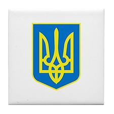 Ukrainian Tile Coaster
