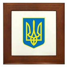 Ukrainian Framed Tile