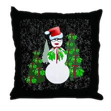 Diva Christmas Throw Pillow