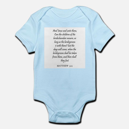 MATTHEW  9:15 Infant Creeper