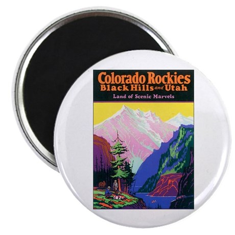 """Colorado Rocky Mountains 2.25"""" Magnet (10 pack)"""