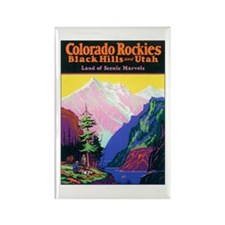 Colorado Rocky Mountains Rectangle Magnet