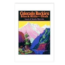 Colorado Rocky Mountains Postcards (Package of 8)