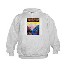 Colorado Rocky Mountains (Front) Hoodie
