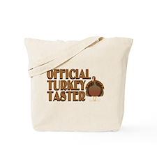 fficial Turkey Taster Tote Bag