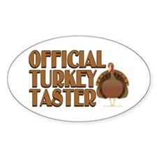 fficial Turkey Taster Decal