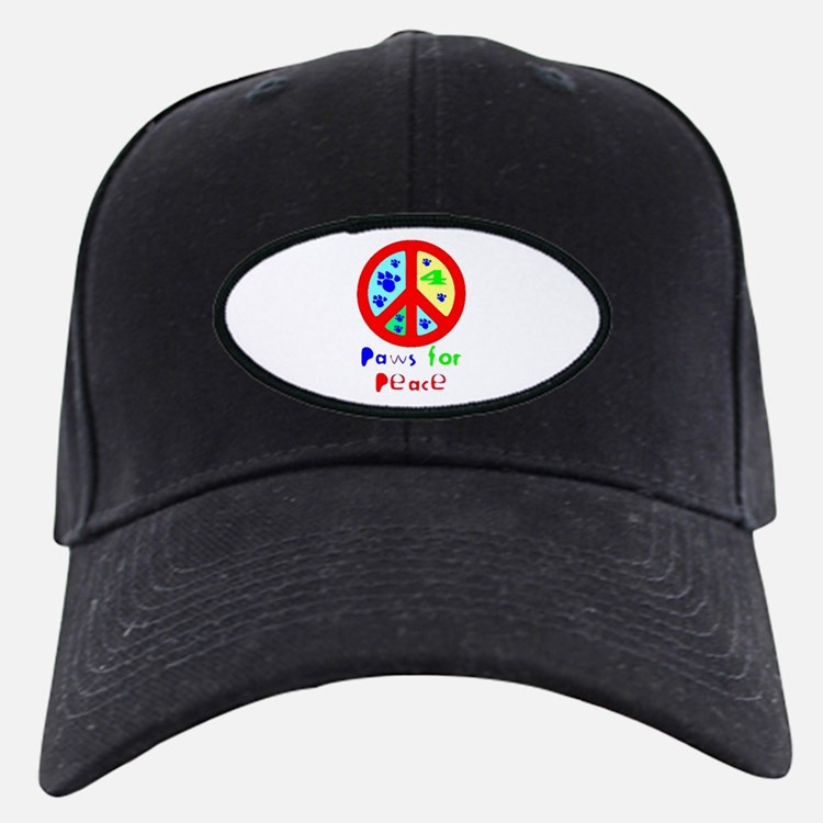 Paws for Peace Red Baseball Hat