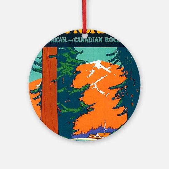Pacific Northwest Keepsake (Round)
