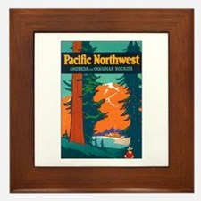 Pacific Northwest Framed Tile