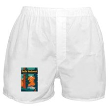 Pacific Northwest Boxer Shorts