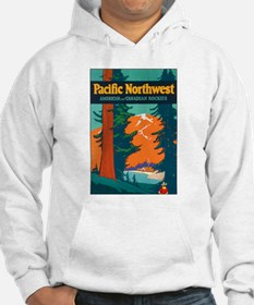 Pacific Northwest (Front) Hoodie