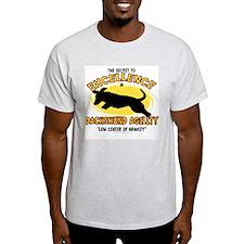 The Secret to Dachshund Agility T-Shirt