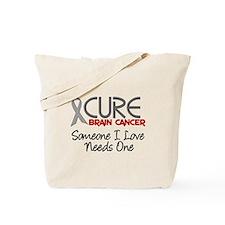 CURE Brain Cancer 2 Tote Bag