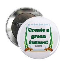 "Green Future 2.25"" Button (10 pack)"